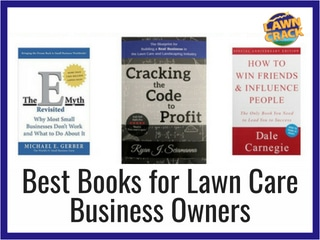 Best Books for Lawn Care and Landscape Business Owners