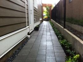 Interlocking pavers, fence builders Vancouver