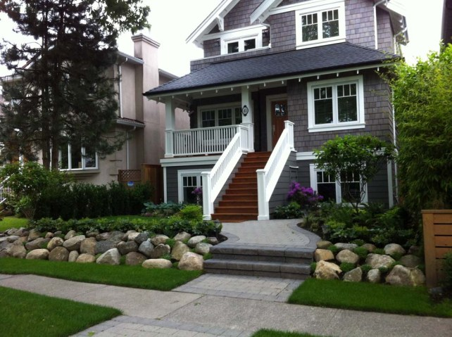 Example of retaining wall project