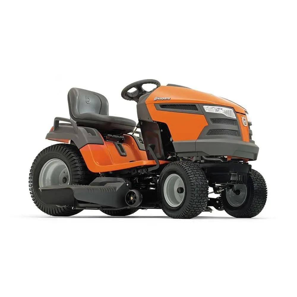 medium resolution of husqvarna yta18542 riding lawn mower review