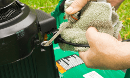 Fall and Winter Lawn Mower Maintenance Tips