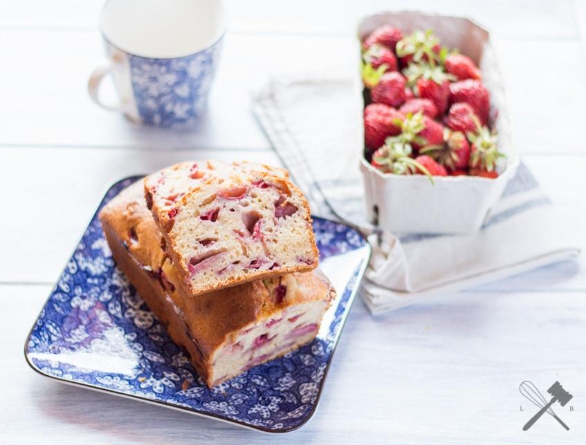 Erdbeer Quickbread