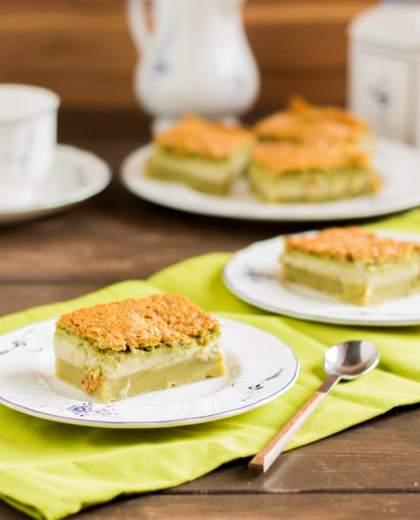Magic Matcha Cake