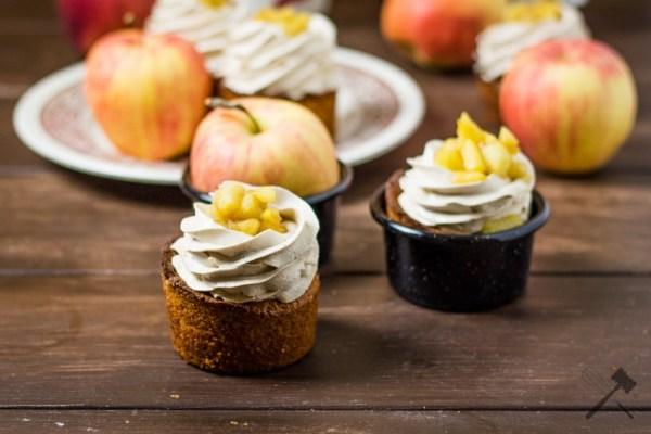 Apfel Cupcakes