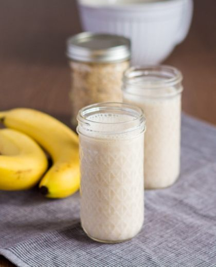 Cinnamon Roll Bananen Smoothie