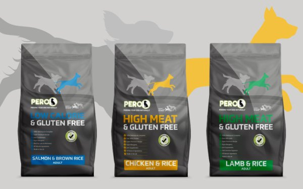 Pero Foods Dog Food Range