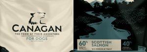 Canagan Dog Food Scottish Salmon Law Print Pack