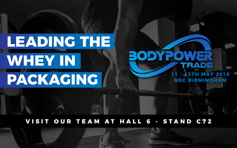 Law Print Pack at BodyPower Trade 2018