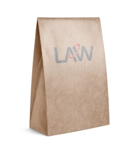 Kraft Paper Bag SOS Paper Bag Law Print