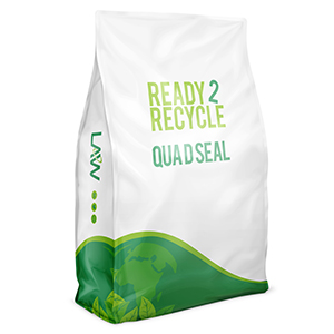 sustainable & recyclable packaging - QUAD SEAL