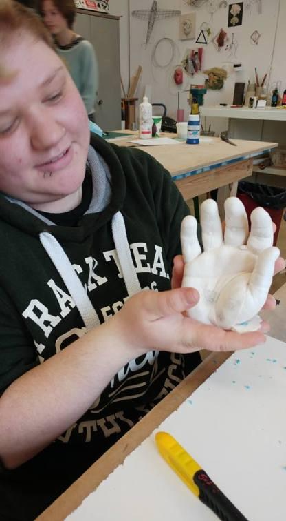hand casting 28