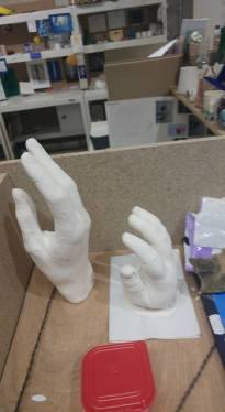 hand casting 35