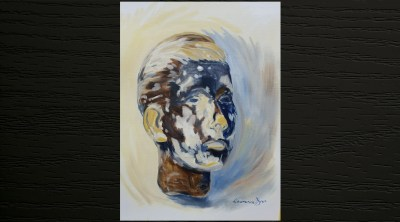 Lawrence Dyer Painted Mannequin Head