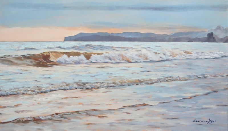 SidmouthWavesWestward-by-Lawrence-Dyer-co-uk-oils-LDSWW2015