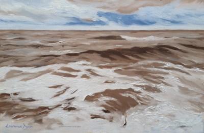 December Sea Westward Ho by Lawrence Dyer