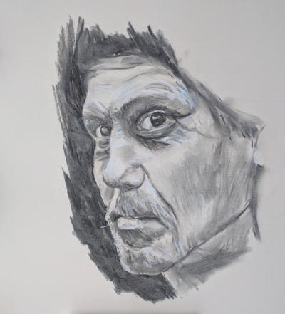 Lawrence Dyer - an upside down portrait
