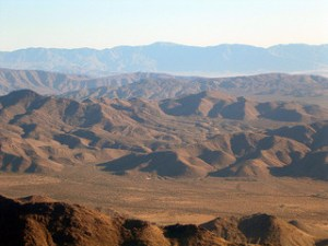 Anza-Borrego Desert State Park, where two of the stories in Desert Trilogy take place