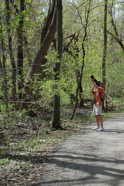 Bird watching is a popular activity along the Red Cedar River and Sycamore Creek