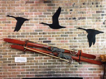 Wall display at the Kensington Nature Center