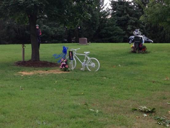 Jill Byelich's grave site