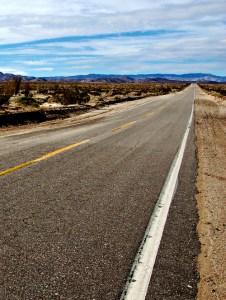 Highway outside Ocotillo CA