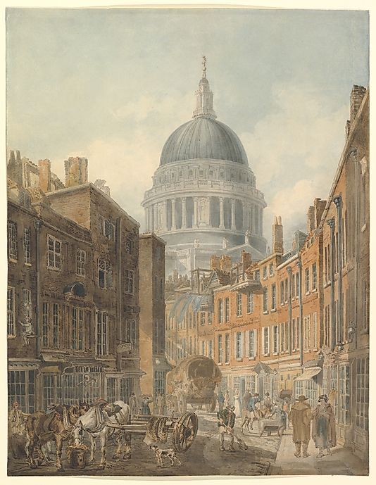 Painting of St. Paul's Cathedral