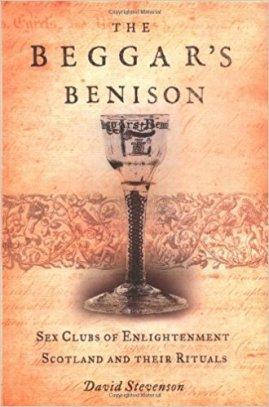 """Cover of Stevenson's """"The Beggar's Benison."""""""