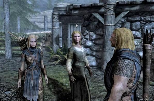 Pic of Deirdre, Gerdur, and Ralof