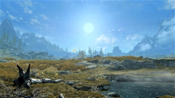 Pic of the tundra west of Whiterun