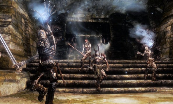 Pic of many draugr and a deathlord