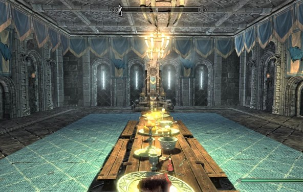 Pic of the Great Hall in the Palace of the Kings