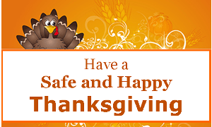 Thanksgiving Holiday Safety  City of Lawrence Kansas