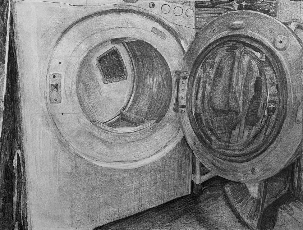 Drawing by Reece Wohlford