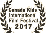 Canada Kids Film Festival 2 - Nicola's Shedim selected for Canada Kids festival in Toronto next week