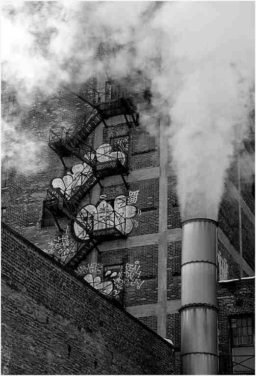 """J. Gordon Rodwan, """"Smoke Stack"""", photography, 16x20, $200"""