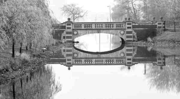 "J. Gordon Rodwan, ""Bridge on Belle Isle"", photography, 14x20, $175"