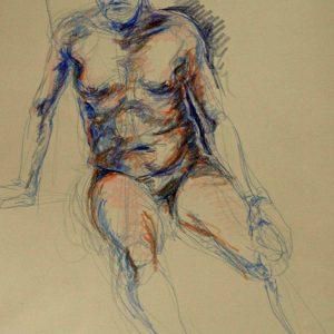 Diane Krempa, Ala Michelangelo, cp, 19x26, $375
