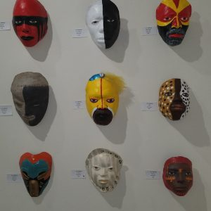 Patricia Simpson, Masks, $150