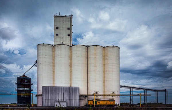 Grain Elevator, Photography, 21 x 14 matted and framed, $300