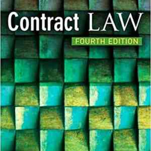 Contract Law By Mary Charman