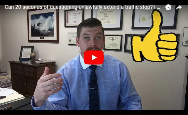 Can 20 seconds of questioning unlawfully extend a traffic stop? | United States v. Lujan