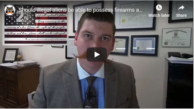 Should illegal aliens be able to possess firearms and weapons? 2nd Amendment   US v. Torres