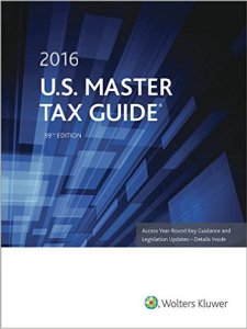 2016 Master Tax Guide