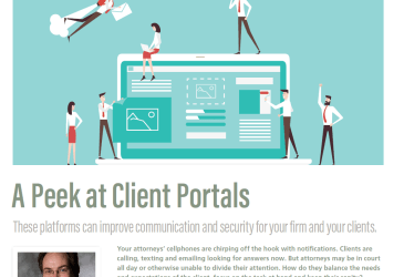 A Peek at Client Portals (Nov/Dec Issue of ALA's Legal Management)