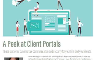 A Peek at Client Portals (Nov/Dec Issue of ALA's Legal Management)