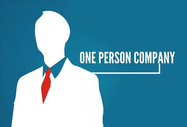 one man company