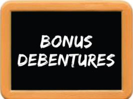 bonus debentures