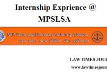 Madhya Pradesh State Legal Services Authority