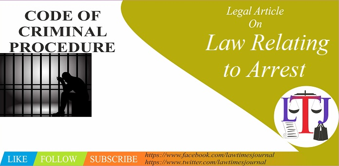 Law Relating to Arrest