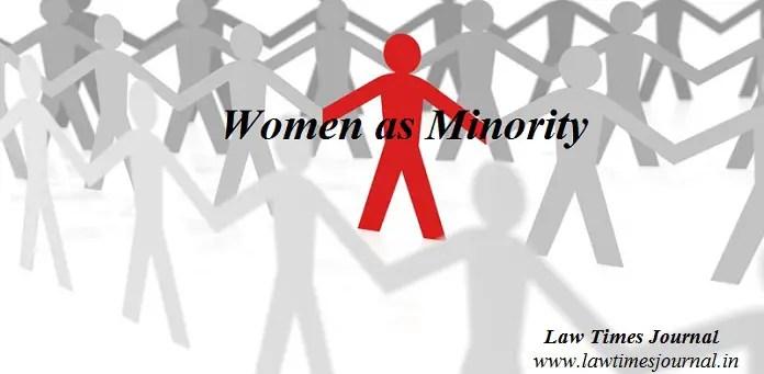 Women as minority